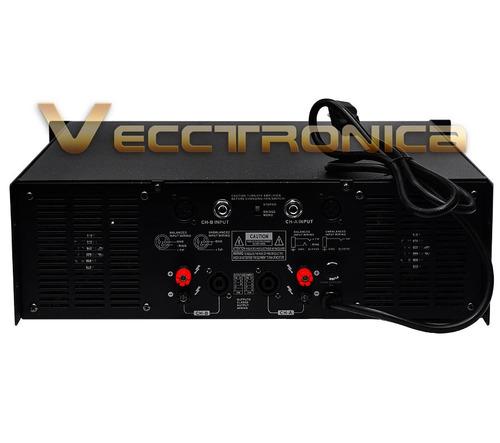 profesional audio amplificador