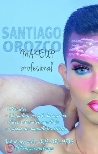 profesional en maquillaje y cabello.