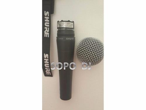profesional shure micrófono