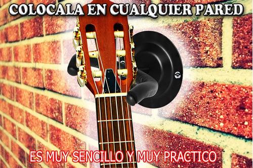 profesional stan de pared para guitarra acustica y electrica