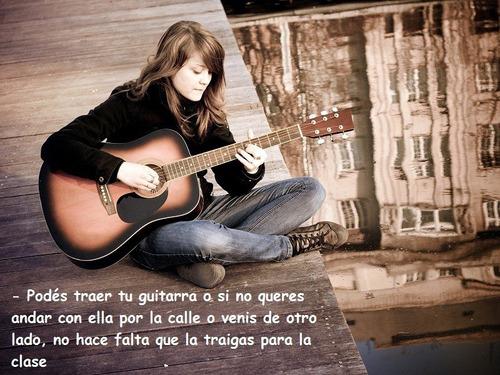 profesor de guitarra (caballito), sábados inclusive!