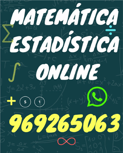 profesor de matemática a domicilio (clases particulares)