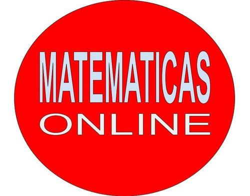 profesor de matemática online ha domicilio