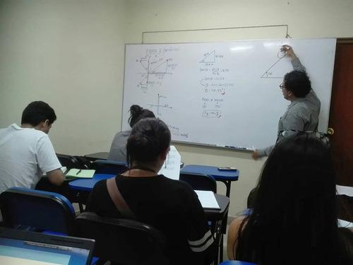 profesor de matemáticas clase a domicilio física química uni