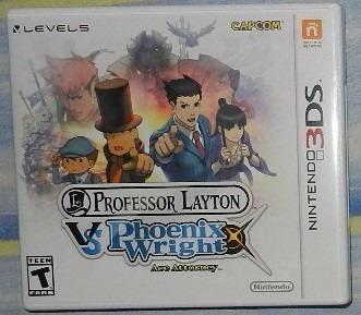 profesor layton 3ds