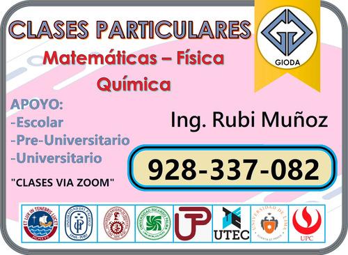 profesora de matematicas uni brinda asesoria (928-337-082)