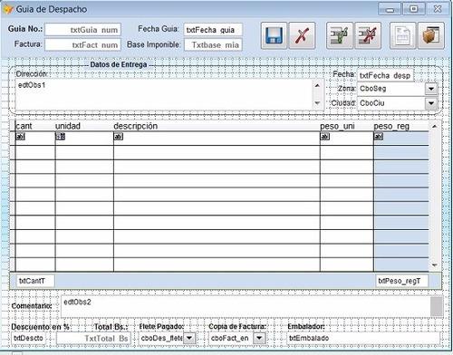 profit plus programación procesos, reportes, datos excel sql