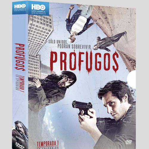 profugos temporada 1 uno serie tv en dvd