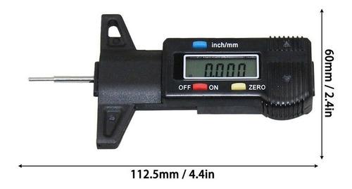 profundimetro medidor desgaste llanta carro vehiculo