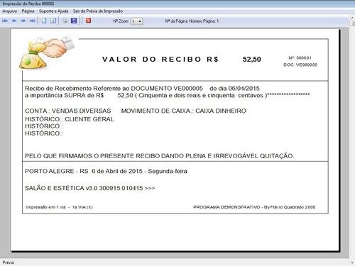 programa clinica estética + agendamento com financeiro v3.0