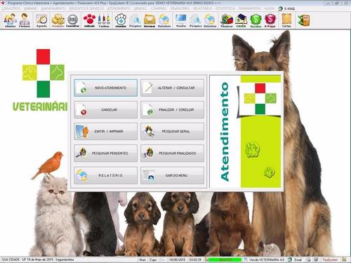 programa clinica veterinária + agendamento e financeiro v4.0