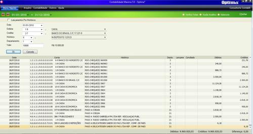programa contábil - contabilidade máxima 7.0