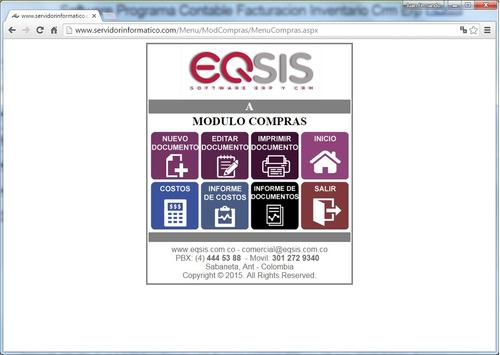 programa contable inventario factura contabilidad pos eqsis