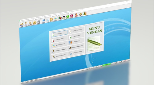 programa controle de estoque e vendas + financeiro v2.0