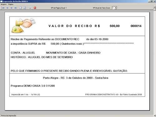 programa controle financeiro, fluxo de caixa 3.0 - fpqsystem