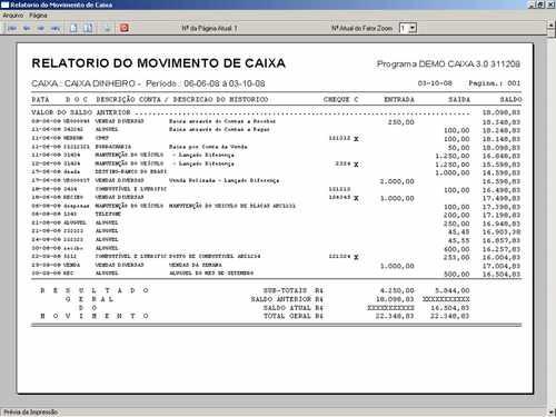 programa controle financeiro, fluxo de caixa + envio grátis
