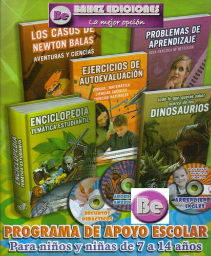 programa de apoyo escolar para niños y niñas de 7 a 14 años