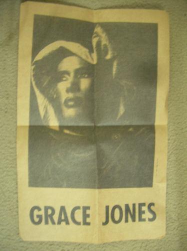 programa de grace jones  en argentina