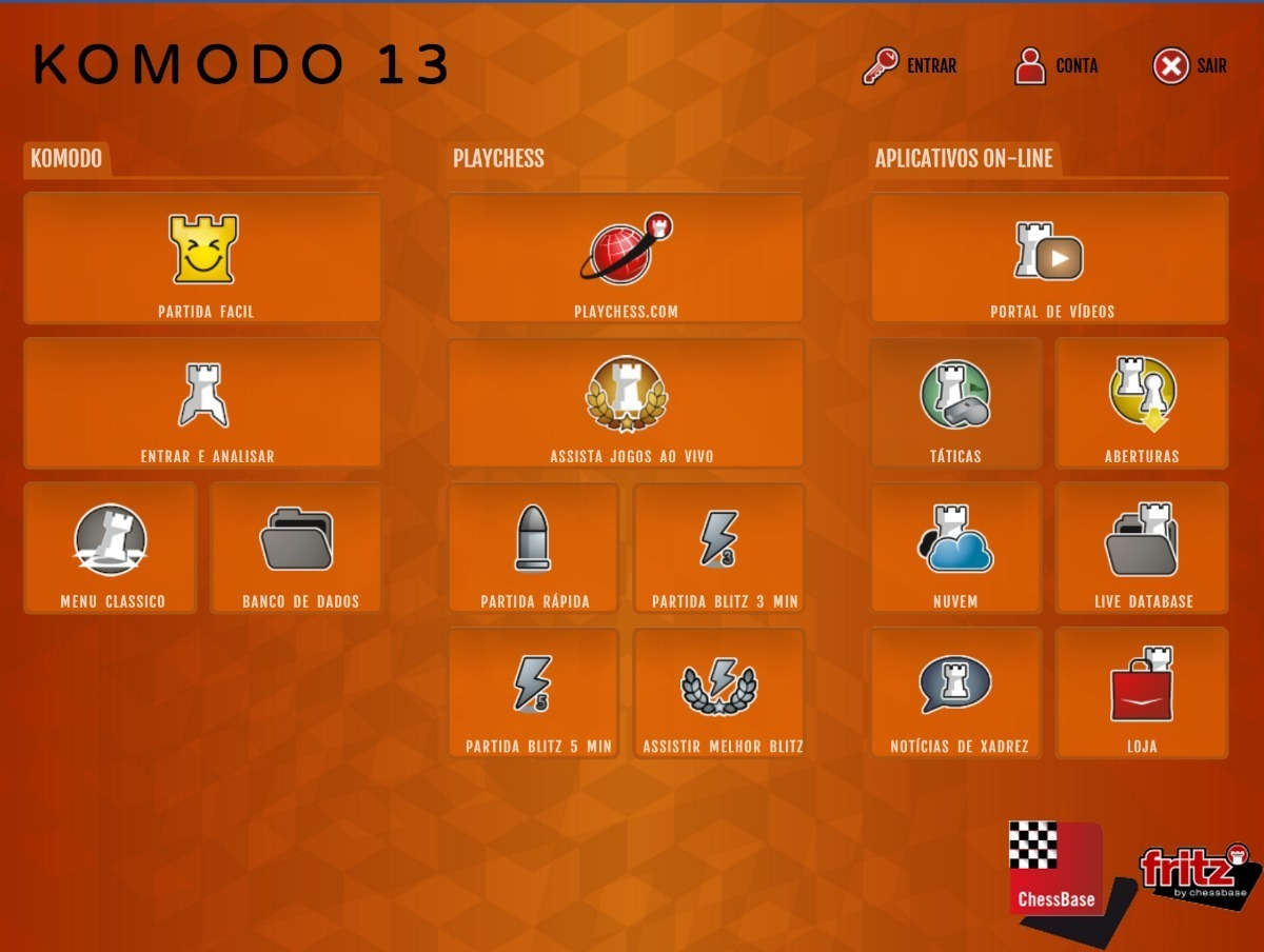 Programa De Xadrez Komodo 13 Em Português | Envio Rápido