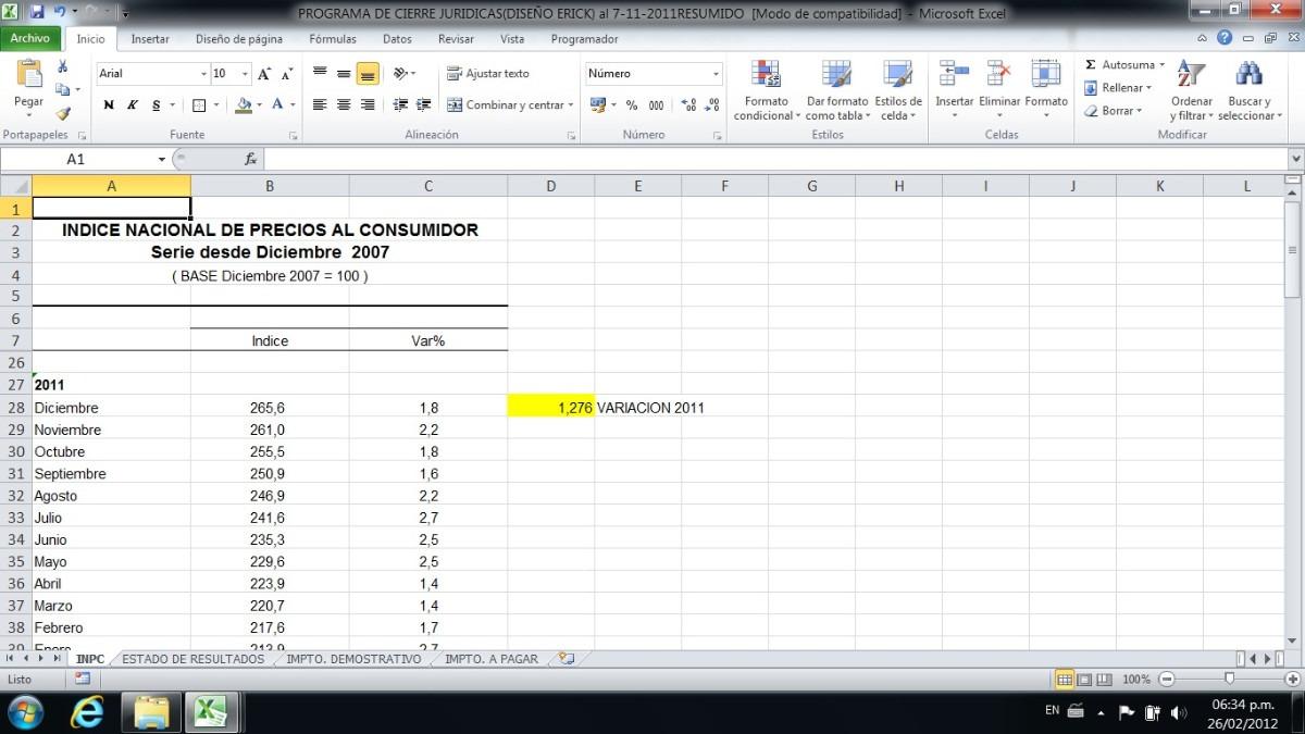 Programa Declaracion Islr Persona Natural Excel - Bs. 350.000,00 en ...