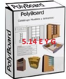 programa diseñar cocinas polyboard 5.14 + bonus gratis