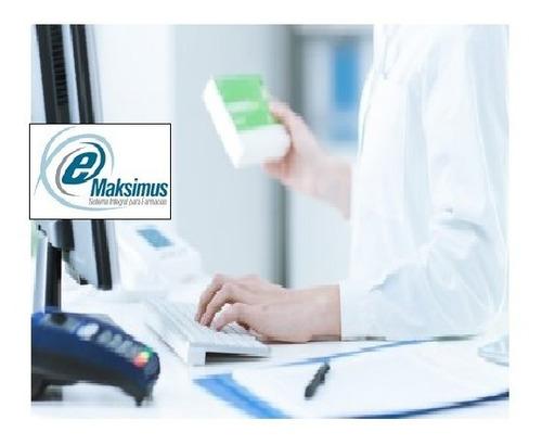 programa emaksimus 8.1.8 farmacia