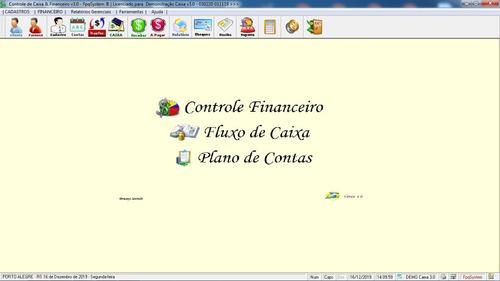 programa financeiro, caixa + contas a receber e pagar v3.0