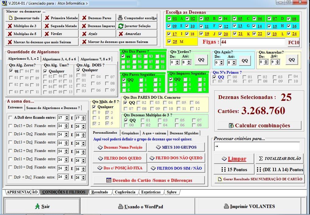 Programa Ganhar Na Loteria Lotofácil, Lotofacil, Loto