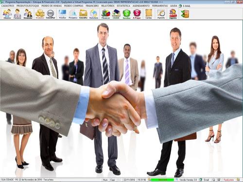 programa gerenciar representação pedidos e financeiro v3.0