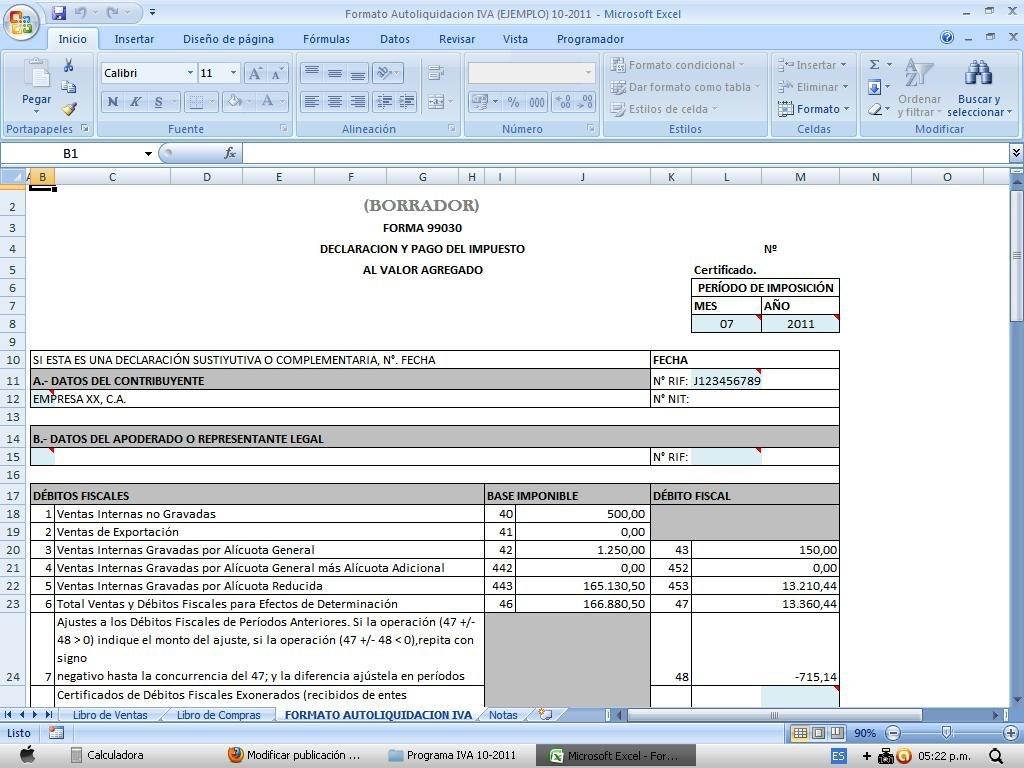 Programa Iva + Libro De Ventas + Compras + Data 2018 - Bs. 700.000 ...