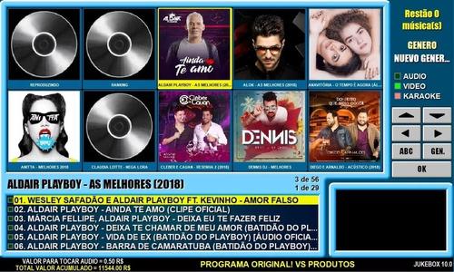 programa jukebox 10.0 original + 6000 musicas português br