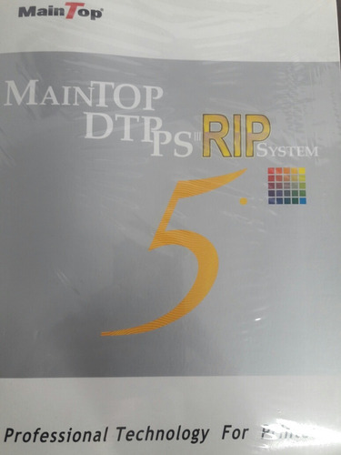 programa maintop v5 - para impressora goldensign /titanjet