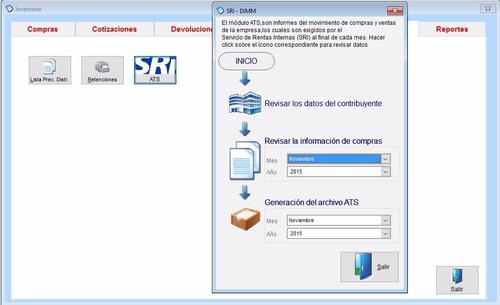 programa monica ecuador facturacion inventario ats contable