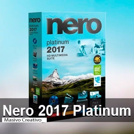 programa nero 2017 platinum licencia permanente. cotyofertas
