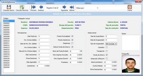 programa nominas cfdi recibos electrónicos timbrado xml pdf