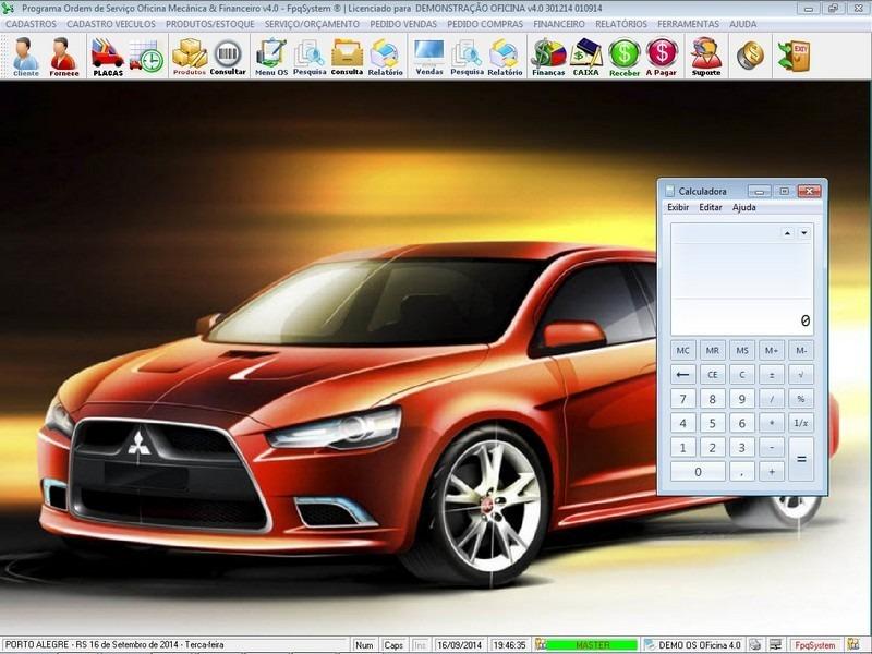 Programa oficina mec nica estoque e financeiro v4 0 r for Programas para oficina