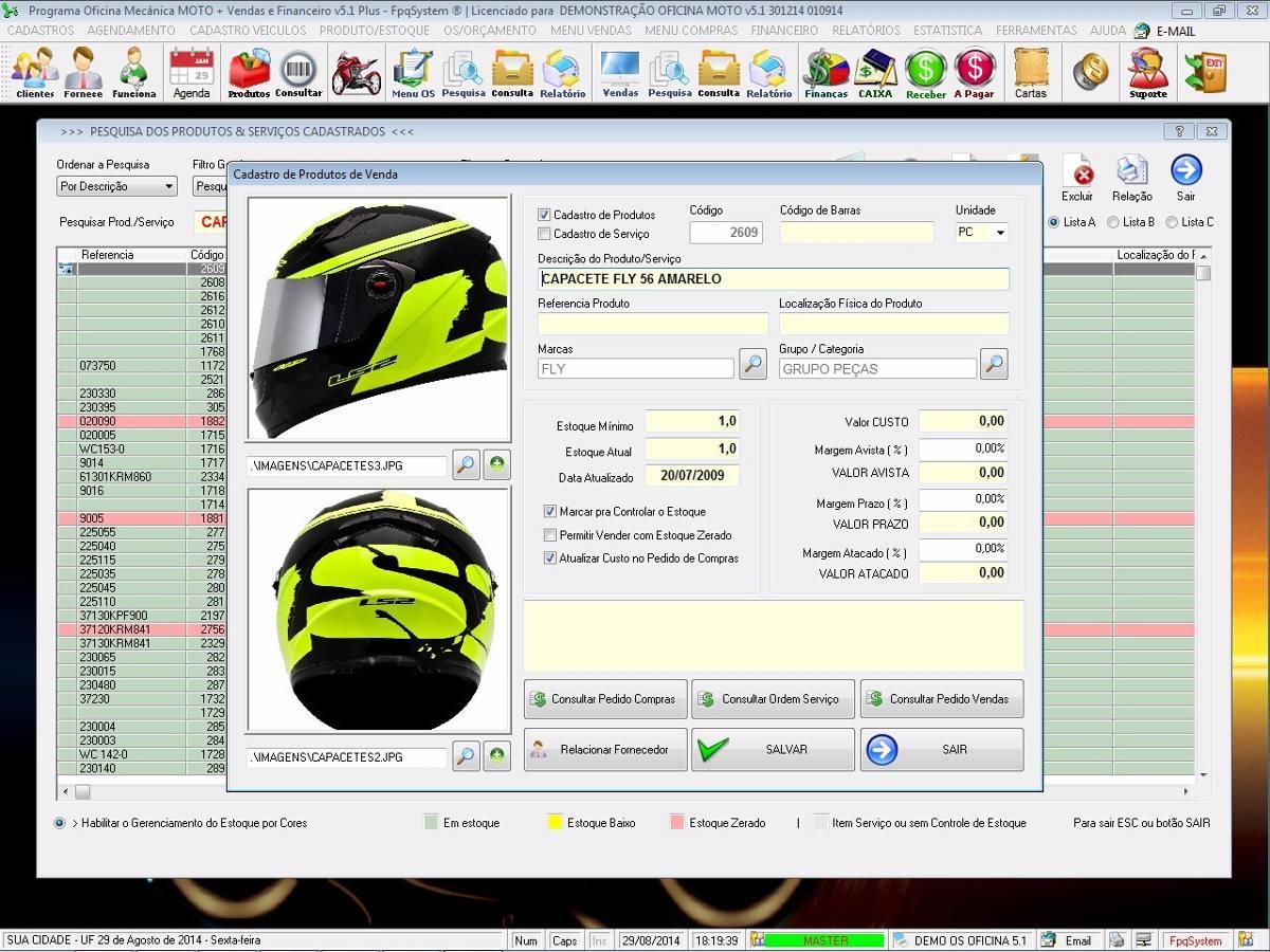 Programa oficina mec nica para moto com check list v5 1 for Programa para disenar oficinas