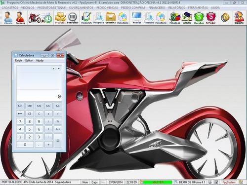 programa ordem de serviço oficina mecânica de motos v4.1