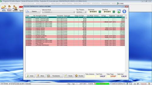programa ordem de serviço para gráfica rápida v5.5 plus