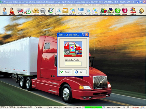 programa ordem de serviço para oficina mecânica caminhão 4.2