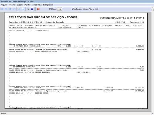 programa ordem de serviços gerais orçamento financeiro v4.6