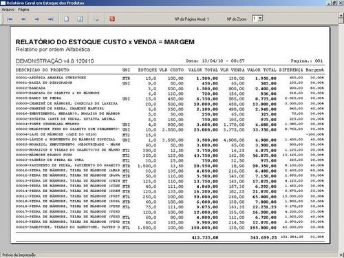 programa os marmoraria com vendas e financeiro v4.8