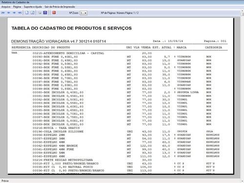 programa os vidraçaria + vendas + financeiro  v4.7 fpqsystem