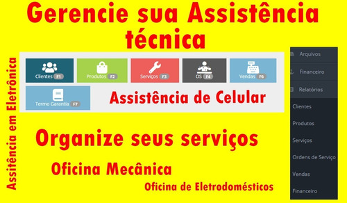 programa para assistencia técnica