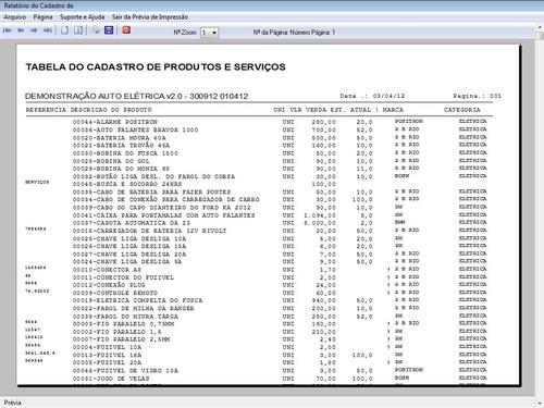 programa para auto elétrica e com controle financeiro v2.0
