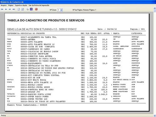 programa para auto som, tuning e acessórios automotivo v1.0