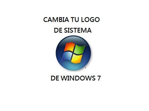 programa para cambiar el logo de windows