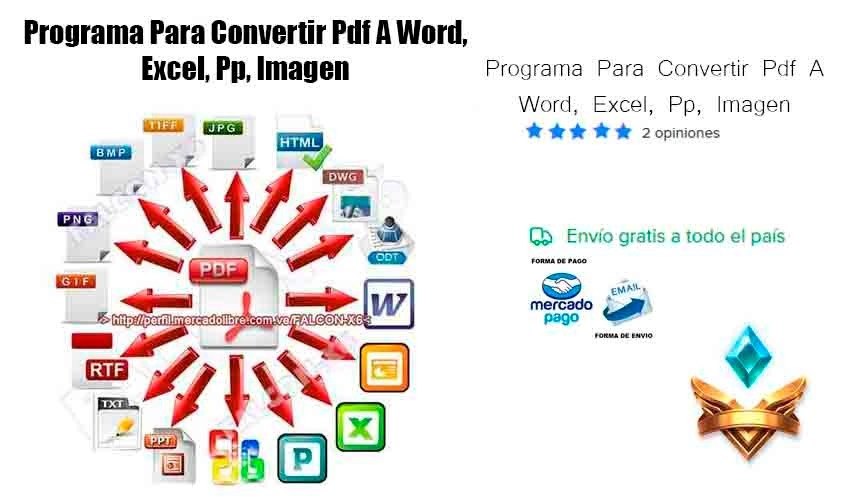 programa convertir de pdf para word gratis