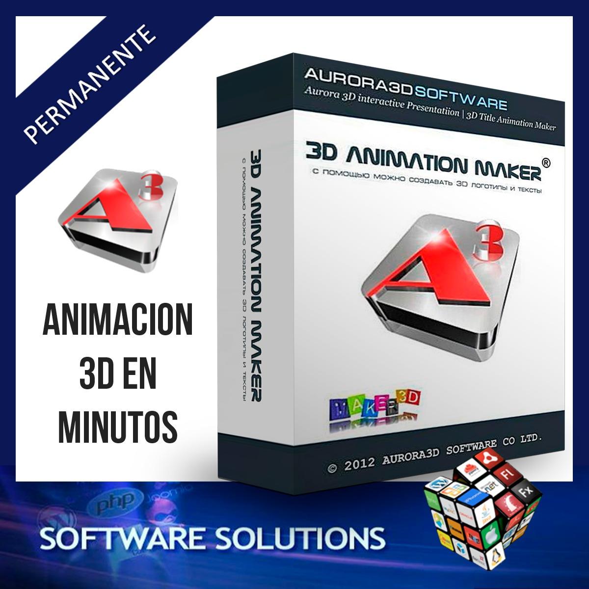 Programa Para Crear Animaciones Aurora 3d Animation Maker