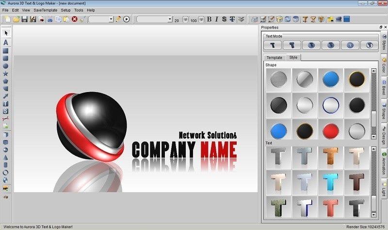elegant programa para crear disear logos d aurora d logo maker cargando  zoom with como hacer un logo en 3d 98d85b60782